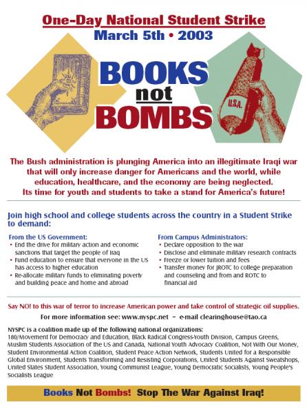 BooksNotBombsFlyer